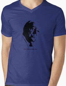 What would Mies do? Architecture T shirt Mens V-Neck T-Shirt