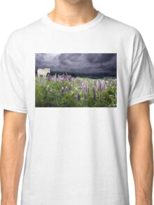 A Childs Dream Among Lupine Classic T-Shirt