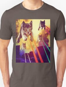 Cats With Laser Eyes T-Shirt