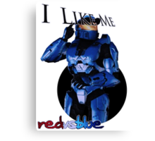 Caboose RVB I like me  Canvas Print