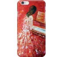 Piano Player iPhone Case/Skin