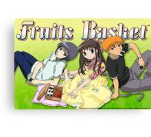 Fruits Basket Canvas Print