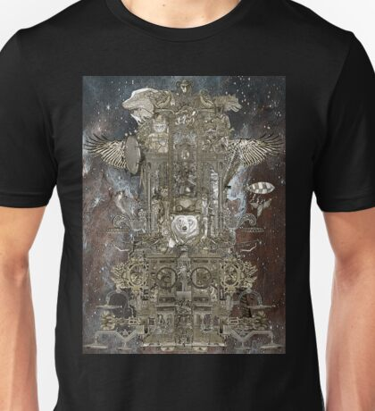 Steampunk Space Transport Unisex T-Shirt