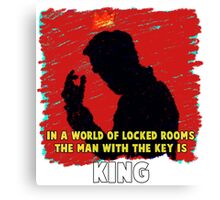 The Key King BBC Sherlock Moriaty Canvas Print