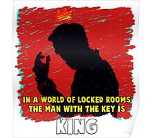 The Key King BBC Sherlock Moriaty Poster