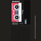 Dale Cooper's Tape Recorder (Diane) iPhone Case  by Pieter Dom