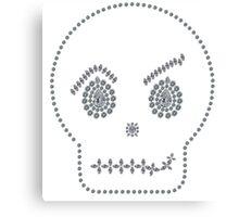 Skull Smirk Canvas Print