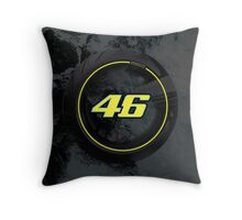 Valentino Rossi 46 Throw Pillow