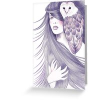 Sorceress Greeting Card