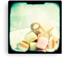 Dolly mixture Canvas Print