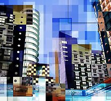 Retro City Tower Tiles by Phil Perkins