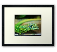 I Just Came To Say Hello! Framed Print