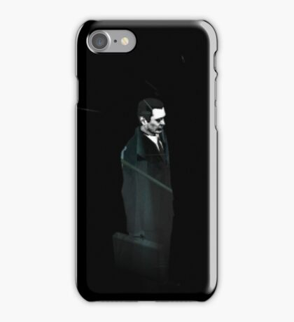 Half-Life 2 - Gman void iPhone Case/Skin