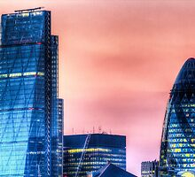 The Gherkin and the Cheese Grater by DavidHornchurch