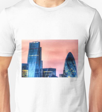 The Gherkin and the Cheese Grater Unisex T-Shirt