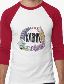 Karma Men's Baseball ¾ T-Shirt
