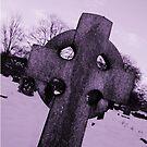 Graveyard On A Winter's Eve by Mounty