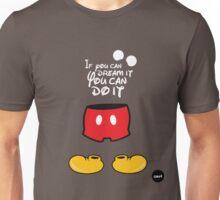 The mouse white version Unisex T-Shirt