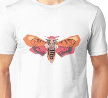 Abstract Moth Unisex T-Shirt