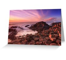 Giant's Causeway , Co Antrim , Northern Ireland Greeting Card