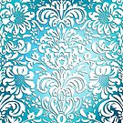 Floral Elegance - Colour Fade Pattern 1 by Ra12