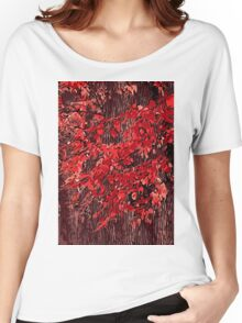 Red branches Women's Relaxed Fit T-Shirt