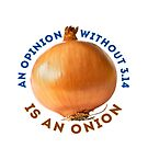 Opinion - Pi = Onion by Gianni A. Sarcone