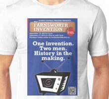 NC Theatre presents THE FARNSWORTH INVENTION by Aaron Sorkin Unisex T-Shirt