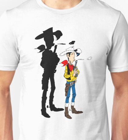 Lucky Luke Shadow Unisex T-Shirt