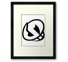 Pokemon - Team Skull Logo Framed Print