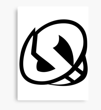 Pokemon - Team Skull Logo Canvas Print