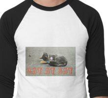 CAT AT BAT  Men's Baseball ¾ T-Shirt