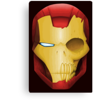 Iron Man Skull Canvas Print