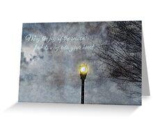 Happy Holidays Greeting Card and Print Greeting Card