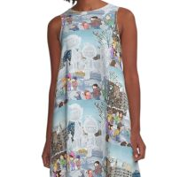 lolo at sapporo A-Line Dress