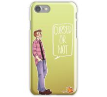 Dean Winchester - Cursed or Not iPhone Case/Skin
