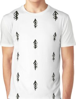 Tree pattern,abstract background Graphic T-Shirt