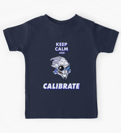 Keep Calm And Calibrate Kids Tee