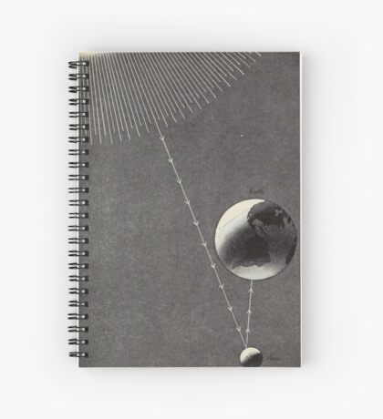 Vintage Astronomy Diagram Spiral Notebook