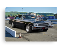 1967 Chevelle Pro Street 'Race Day' Canvas Print