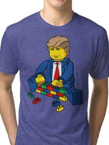 Build A Wall Trump 2016 Tri-blend T-Shirt