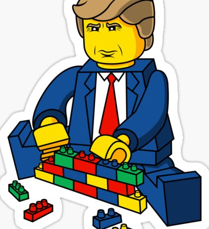 Trump Build A Wall Sticker