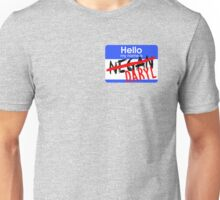 Hello My Name is Daryl Unisex T-Shirt