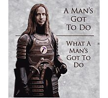 Jaqen Hammer Photographic Print