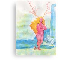 On the Nature of Spirits Canvas Print