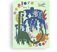 Explore. Canvas Print
