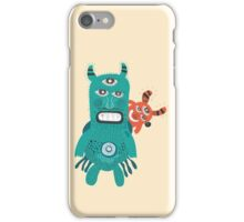 A Pair of Alien Visitors  iPhone Case/Skin