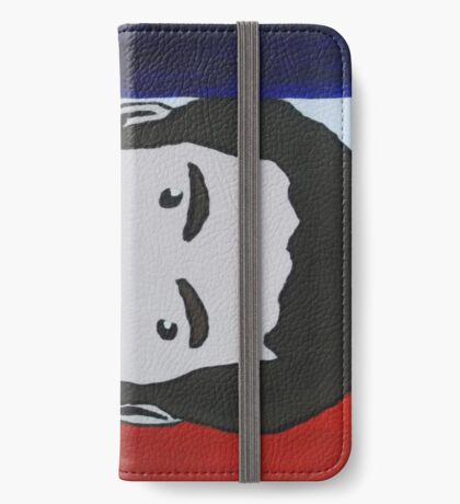 Bradley Wiggins, acrylic painting iPhone Wallet/Case/Skin