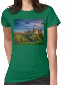 Dunluce Castle  Co Antrim  Northern Ireland Womens Fitted T-Shirt