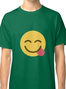 Face savouring delicious food Classic T-Shirt